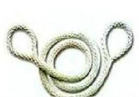 ST双环安全绳 白色安全绳 ST
