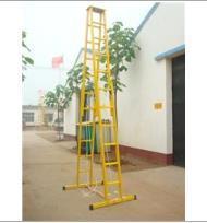 电力绝缘梯 环氧树脂升降梯 玻璃钢升降合梯报价 ST