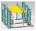 多功能建筑遮阳产品检测装置