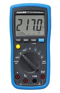 FT217寬頻響真有效值萬用表 FT217