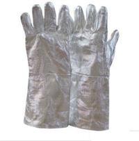 铝箔防高温手套 、铝箔隔热手套、铝箔防火手套、耐高温手套 LWS-077