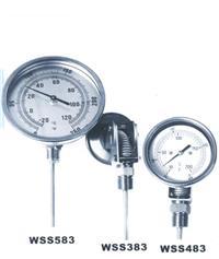 万向双金属温度计 WSS-483  WSS-583 WSS-480