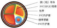 金属屏蔽电力电缆  VV-P、YJV-P、YJLV22-P