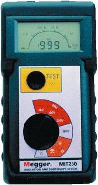 MIT230 绝缘和连续性测试仪 MIT230
