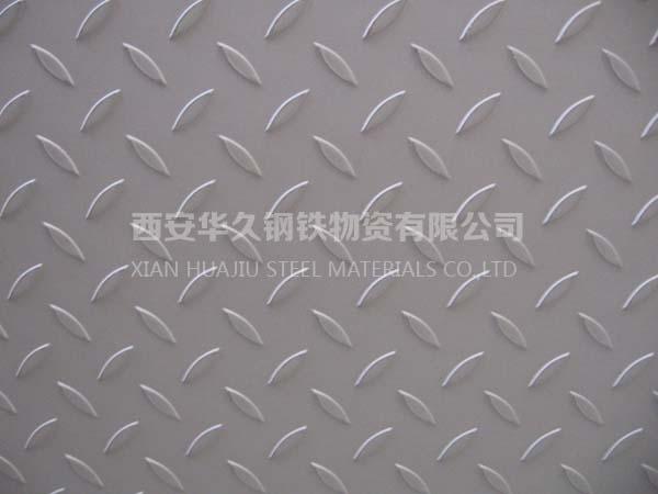 西安304不锈钢花纹板,可来图加工踏板