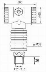 JCJ800G高温型压力变送器 JCJ800G高温型