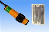 HG-M18-M2PC镜面反射式感应距离2m直流PNP输出常闭型光电开关 HG-M18-M2PC