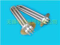 法兰电热管、不锈钢电热管、无锡法兰电加热管 法兰电热管