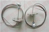 法兰温度传感器 铠装热电偶 热电阻 WZPK-331 活动法兰 温度传感器 PT100