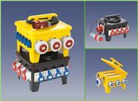 24位移动式防水插座箱