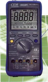 超大屏幕双显示专业数字万用表 DT-9932FC