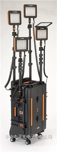 灵光XC6-16WS×4便携式移动照明系统 LED灯 工程灯 升降灯 应急灯 XC6-16WS×4