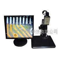 工業檢測視頻數碼電子顯微鏡 VGA工業相機 SZ7D顯微鏡+200萬VGA工業相機+17寸液晶顯示器