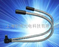 双管形硬管冷光纤 冷光源光纤 蛇形管光纤 双管形硬质冷光纤