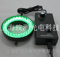 內徑60MM顯微鏡綠光LED環形光源燈源 WC-60L