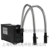 21V150W卤素灯双支硬管分叉光纤冷光源 WC-1150