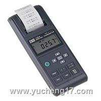 列表温度计TES-1304(带打印)