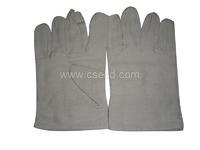 ホワイトキャンバスの手袋 CS6686505