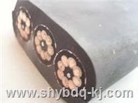 橡胶扁平电缆价格/上海起重机橡胶扁电缆哪家好 YB