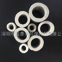 深圳蓝泰兴3mm6mm8mm10mm小尺寸瓷环陶瓷拉西环耐高温耐腐蚀陶瓷散堆填料小填料 HF-LXH