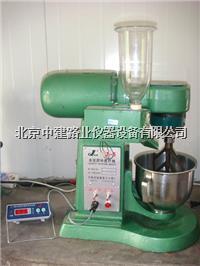 水泥胶砂搅拌机使用说明书 JJ-5型