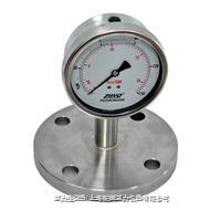 法兰式防振隔膜压力表 PT124Y-624