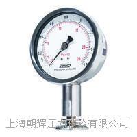 ZHYQ卡箍式卫生隔膜压力表【厂家】 PT124Y-623