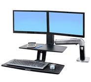 部件号 24-392-026 WorkFit-A 双显示器悬浮式键盘