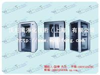 上海自动移门不锈钢风淋室