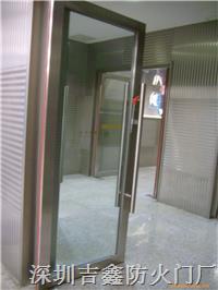 不銹鋼玻璃門 BLFM-08