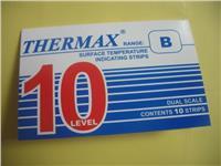 英国TMC10格B型温度试纸 THERMAX 测温纸 10格B型温度热敏试纸 10格B型