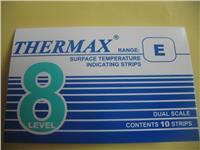 英国TMC 温度标签THERMAX测温纸8格E型温度热敏试纸 感温变色纸 8格E型