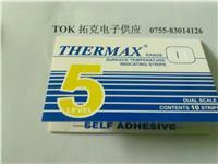 THERMAX温度试纸 测温变色纸 热敏试纸 5格I型测温纸 英国TMC测温贴 5格I型