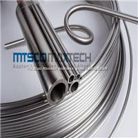 Hydraulic stainless steel seamless coiled tubing