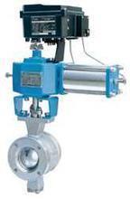 ZS(S/H)V-16/64型 氣動V形調節球閥 ZS(S/H)V-16/64型