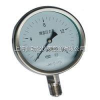 YE-100B上海自动化仪表四厂YE-100B不锈钢膜盒压力表