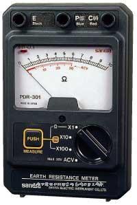 指针式接地电阻测试仪 PDR301