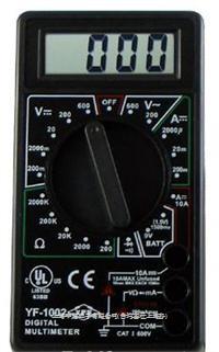 數位三用電錶 YF-1002