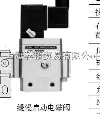 日本SMC缓慢启动阀,直销SMC缓慢启动电磁阀 FQ1010V-06-W010-BX0