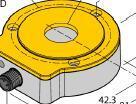 原装TURCK增量型编码器,图尔克增量型编码器功能 PS250R-301-LI2UPN8X-H1141