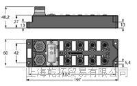 安全数字输出德国TURCK紧凑型I/O模块功能结构 BSV4140-0/11