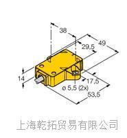 图尔克红外线传感器优点,销售德国TURCK NI3-EG08-AN6X-CSM12150