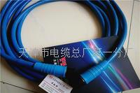 MHYBV-7-1-100米礦用拉力電纜帶插頭 MHYBV-7-1-100