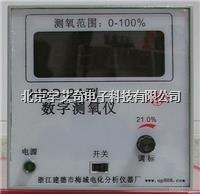 氧气分析仪HBO-2A型数字测氧仪 氧分析仪标配KY氧电极 氧气浓度表 HBO-2A