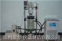 爱华AS212-80L双层玻璃反应釜 爱华AS212-80L双层玻璃反应釜