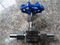 J21W-320P国标体型不锈钢针型阀,仪表截止阀,焊接式针型阀,焊接针形仪表阀 J21W-320P