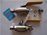 精品优质Q91F-16P/25P/32P/40P/64P,QG.Y1-64P不锈钢卡套式球阀 QG.Y1-64P
