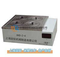 双列四孔水浴锅HHS-2-4外壳是烘烤漆