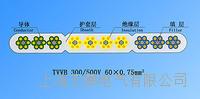 天皋电气TVVB钢芯扁形电梯电缆 天皋电气TVVB钢芯扁形电梯电缆