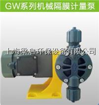 GW系列机械隔膜计量泵、加药泵 GW系列